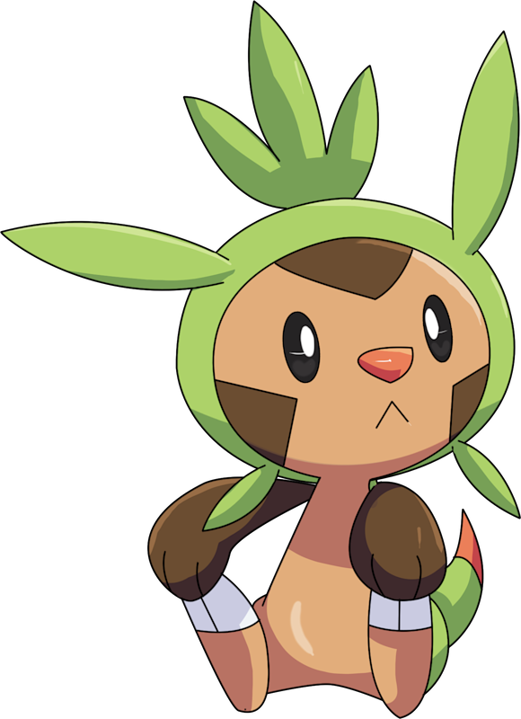 ID: 650 Pokémon Chespin www.pokemonpets.com - Online RPG Pokémon Game