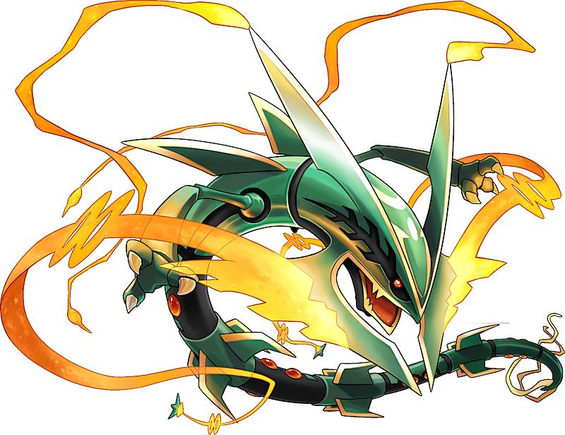 Mega Rayquaza Pokédex: stats, moves, evolution, locations ...