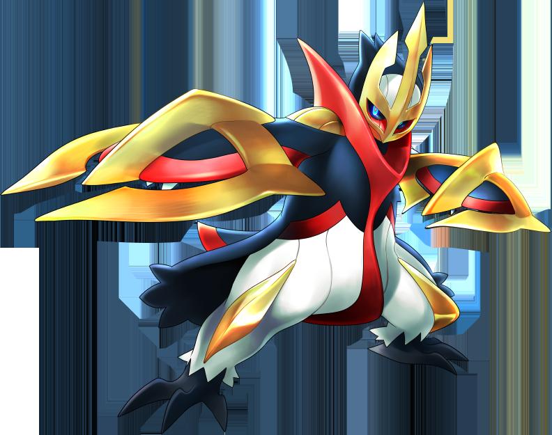 Pok mon 8395 mega empoleon mega artwork - Pokemon perle evolution ...