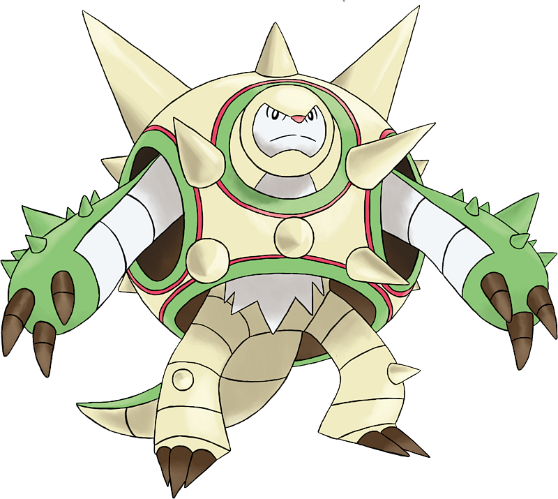 Mega Chesnaught Pokédex: stats, moves, evolution ...