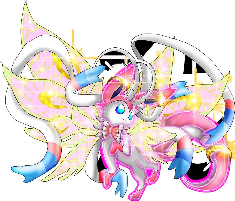 pokemon 8698 mega sylveon dragon pokedex evolution moves