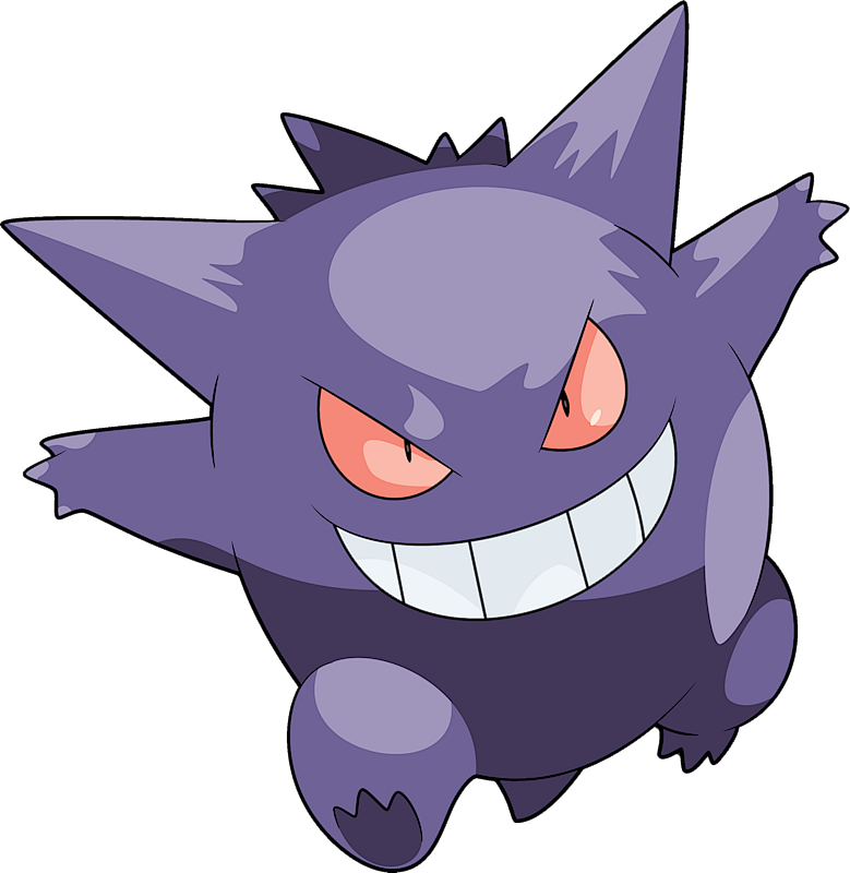 Gengar Pok 233 Dex Stats Moves Evolution Locations Amp Other Forms Pok 233 Mon Database Pokemonpets